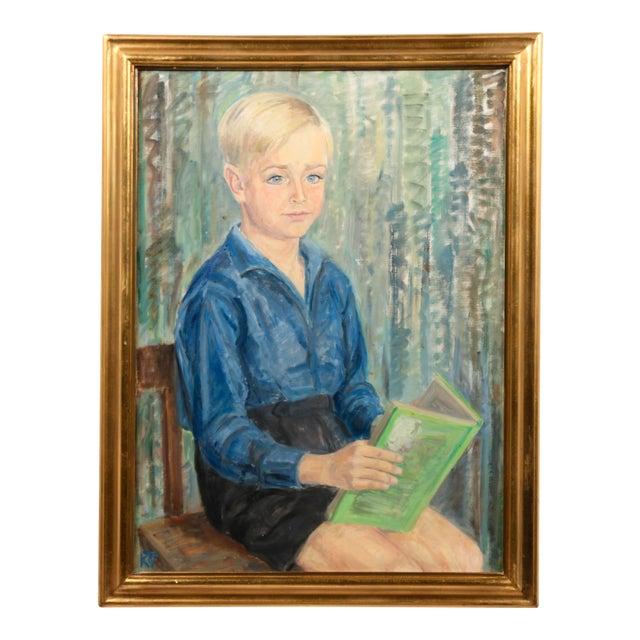 Image of Portrait of a Danish Boy