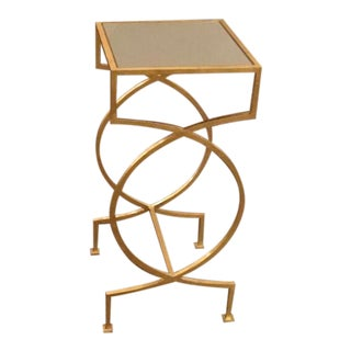Worlds Away Samantha Side Table