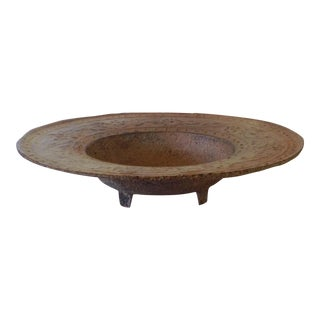 Iron Footed Bowl/Fire Pit