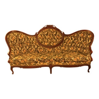 Reproduction Victorian Style Sofa