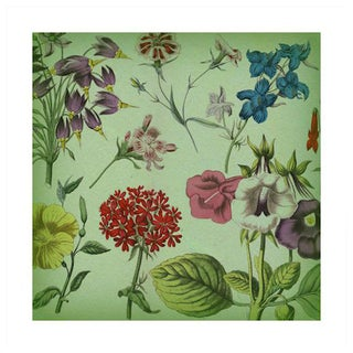 Green Botanical Print