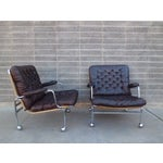 Image of Bruno Mathsson Karin Easy Chairs For Dux Sweden