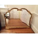 Image of Large Palladio Giltwood Mirror