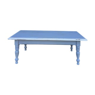 Vintage Hand Painted Coffee Table/Entryway Bench