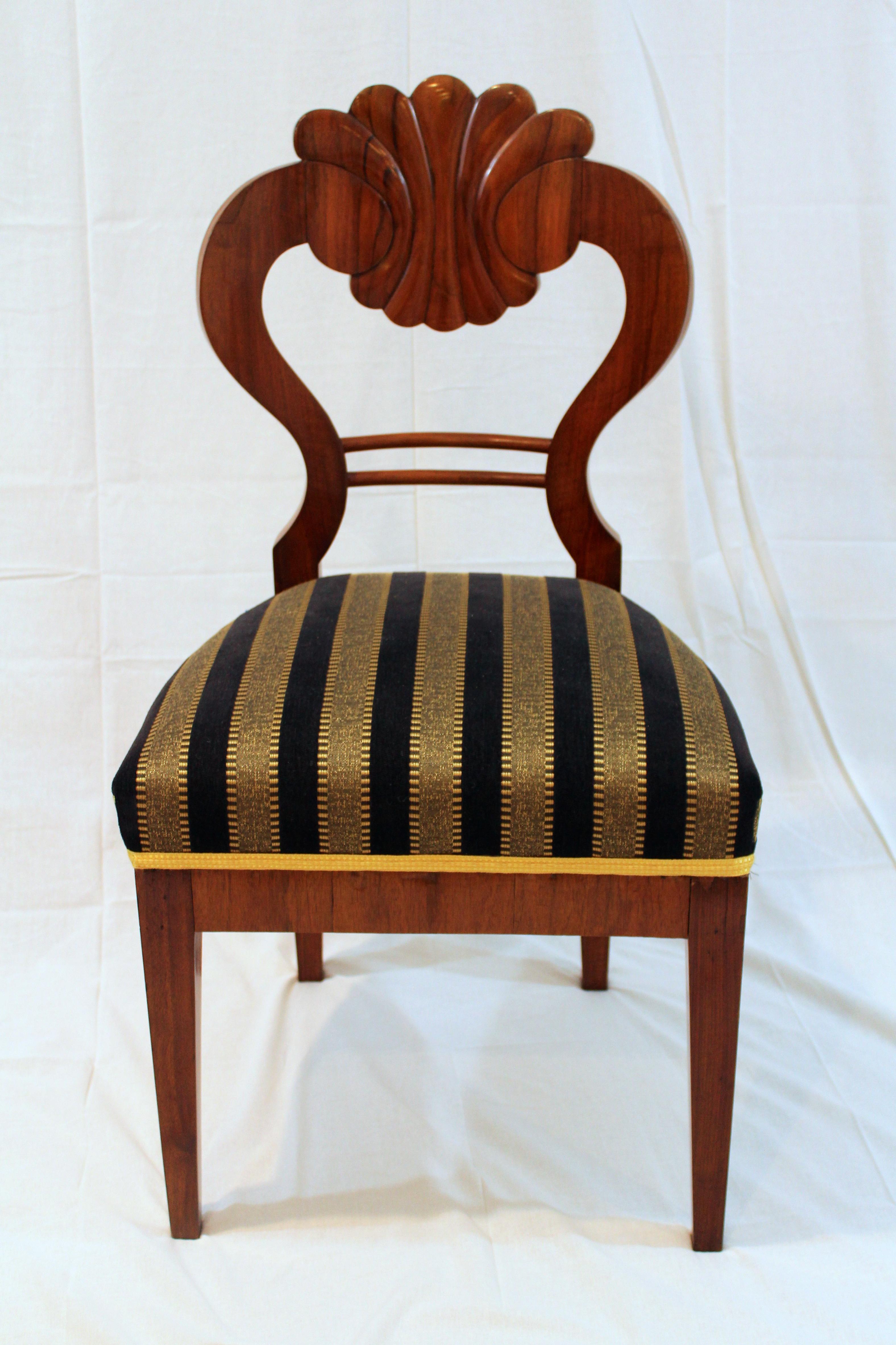Superb Antique 1820u0027s Biedermeier Chairs   Set Of 4   Image 3 ...