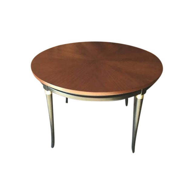 Mid-Century Regency Dining Table - Image 1 of 5