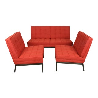 Knoll Mid-Century Modern Sofa & Chairs - Set of 3