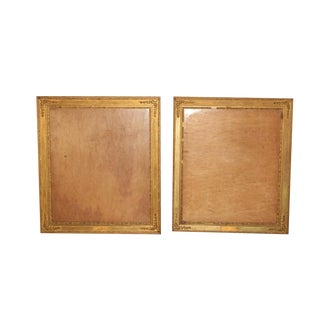 Ornate Gilded Wooden Frames - A Pair