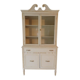 Painted Country Kitchen Cabinet