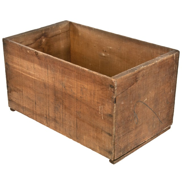 Image of Vintage Rite Grade Wood Apple Shipping Crate