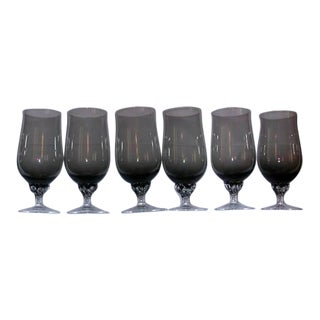 Celebrity Crystal Hampton Glasses - Set of 6
