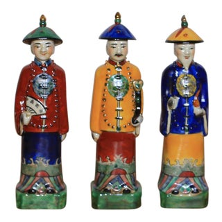 Sarried Ltd Standing Porcelain Figurines - Set of 3