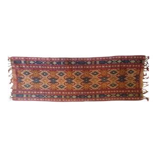 "Traditional Indonesian ""Luka"" Shawl"