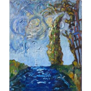 Seaside, After Van Gogh Painting