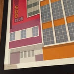 Image of San Francisco Modernism Print 500 Club