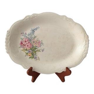 Homer Laughlin Virgina Rose Platter