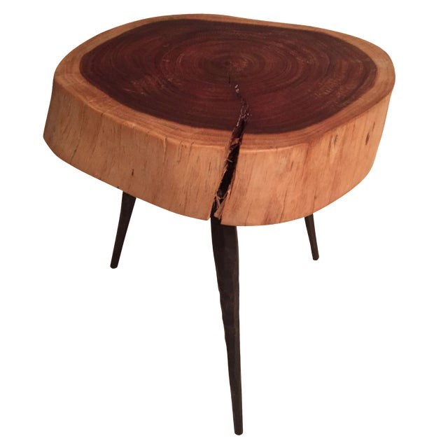 Image of Small Live-Edge Stool