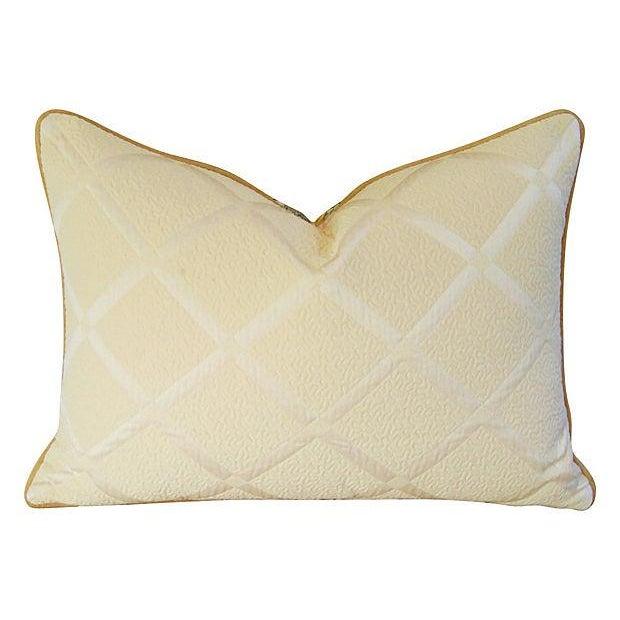 Designer Italian Versace-Style Medusa Pillow - Image 4 of 5