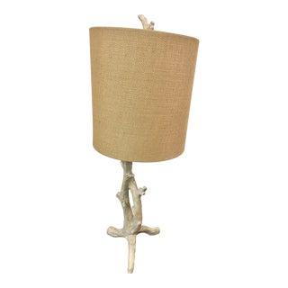 Faux Bois Table Lamp