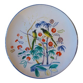 Italian Hand Painted Wall Plate