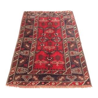 Vintage Anatolian Antalya Rug - 4′3″ × 6′3″