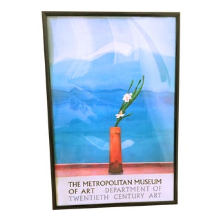 David Hockney Original 1988 Exhibition Poster