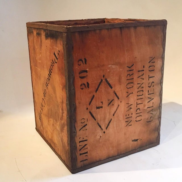 Vintage New York Shipping Crate - Image 4 of 5