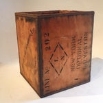 Image of Vintage New York Shipping Crate