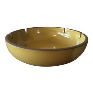 Heath Pottery Yellow Ashtray