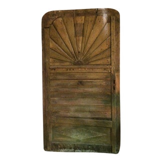 Art Deco Wooden Door