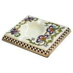 Image of 1950s French Enameled Porcelain Ashtray Catchall