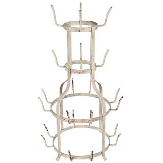 French-Style Bottle Drying Rack