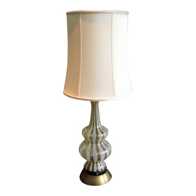 Murano Glass Table Lamp - Image 1 of 4