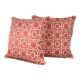 Kravet Geometric Pillows - A Pair