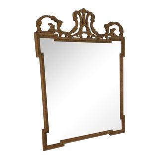 Ethan Allen Vintage Gold Baroque Mirror