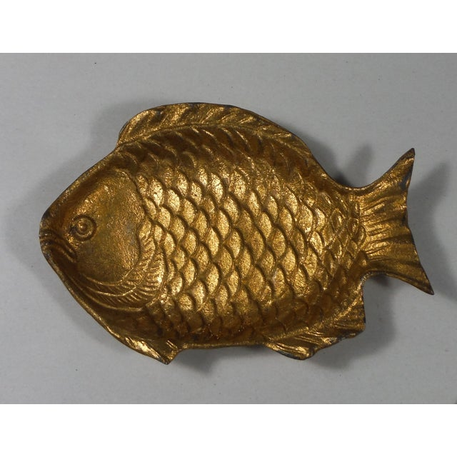 Vintage Japanese Brass Fish Dish - Image 2 of 3