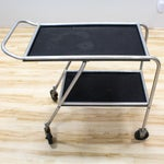 Image of Industrial Bar Cart / 1930's Aero-Art DC-3 Airplane Cocktail Cart