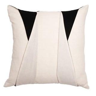 Square Tuxedo Throw Pillow