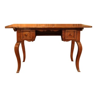 19th Century Country French Walnut Desk
