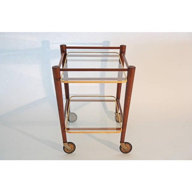Image of Cees Braakman Teak Searving Cart