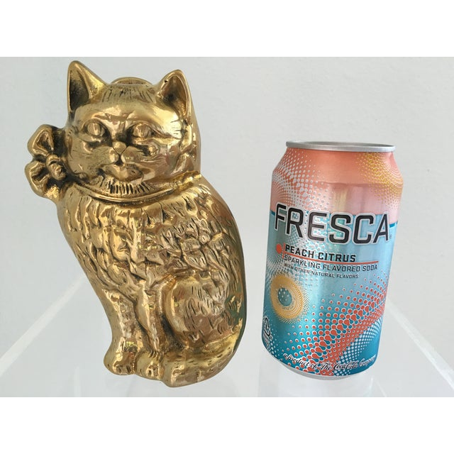 Brass Cat Door Knocker - Image 2 of 6