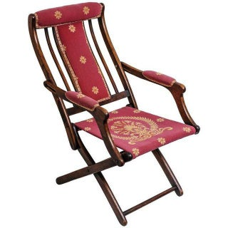 Napoleonic Campaign Style Folding Chair