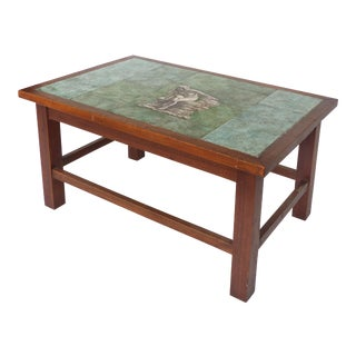 1940 Vintage Johannes Meyer Tile Top Table