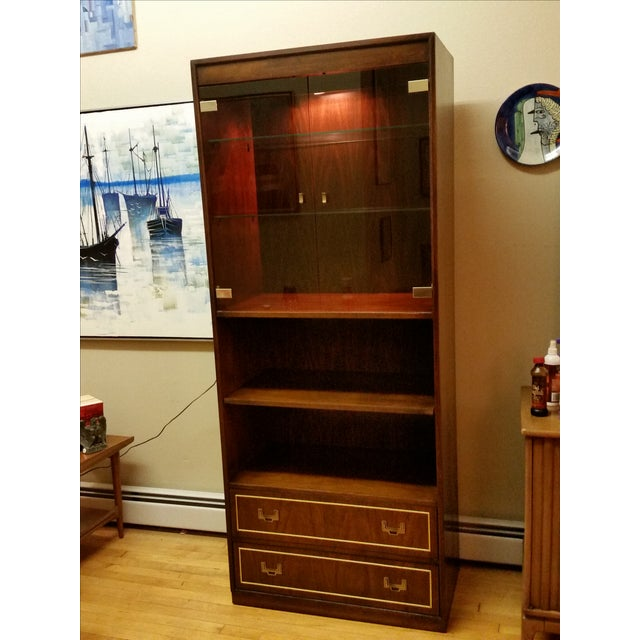 Thomasville Campaign Style Display Cabinet - Image 2 of 12