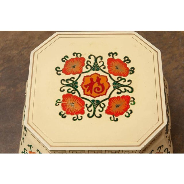Chinese Lacquered Garden Stool - Image 3 of 10