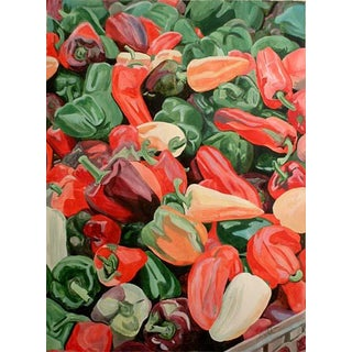 Complimentary Peppers - Giclee Print of the Painting