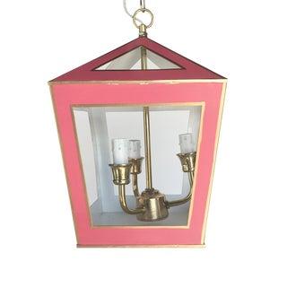 Dana Gibson Solid Pink Tucker Lantern