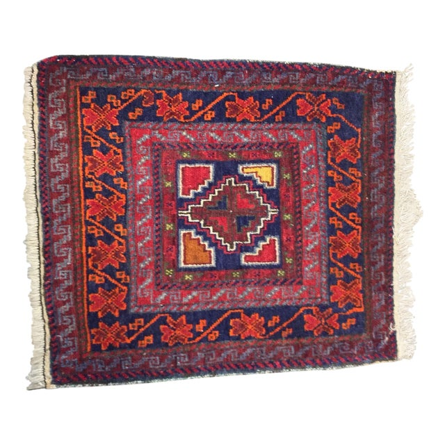 """Vintage Red Persian Rug - 1'11"""" x 2'4"""" - Image 1 of 9"""