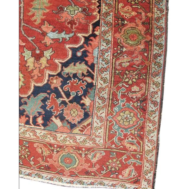 Image of Beautiful Small Heriz Carpet