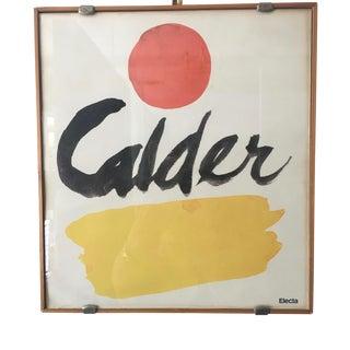Calder Modern Print
